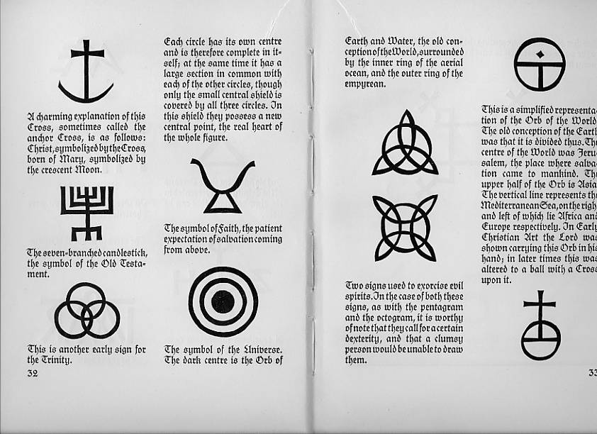 John Bonham and John Paul Jones symbols